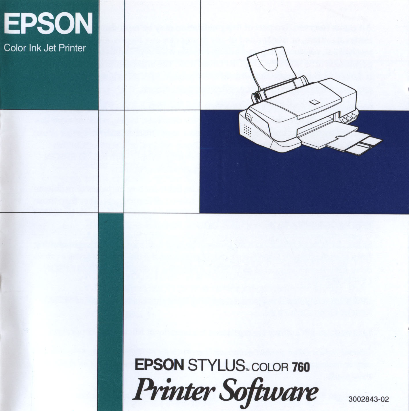 Epson Stylus Color 760 Printer Software (Windows and Macintosh)