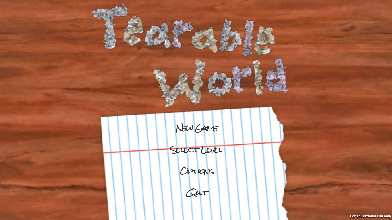 Tearable World
