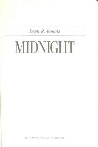 Cover of: Midnight | Dean R. Koontz.