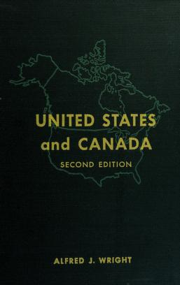 Cover of: United States and Canada | Alfred James Wright