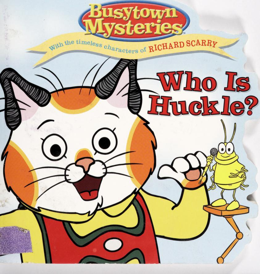 Who is Huckle? by Natalie Shaw